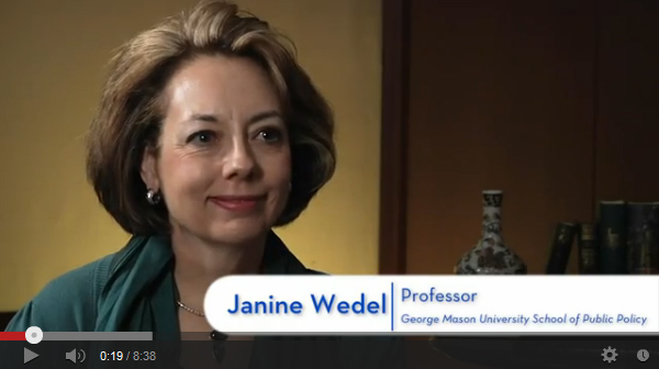 Janine Wedel - interview at INET, January 8, 2013